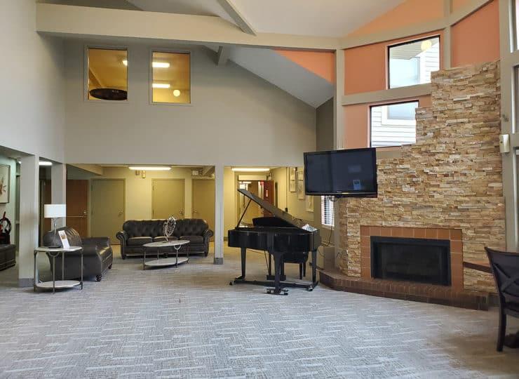 Goodwin Plaza Senior Apartments Community Room