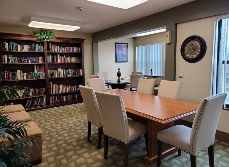 Goodwin Plaza Senior Apartments Library