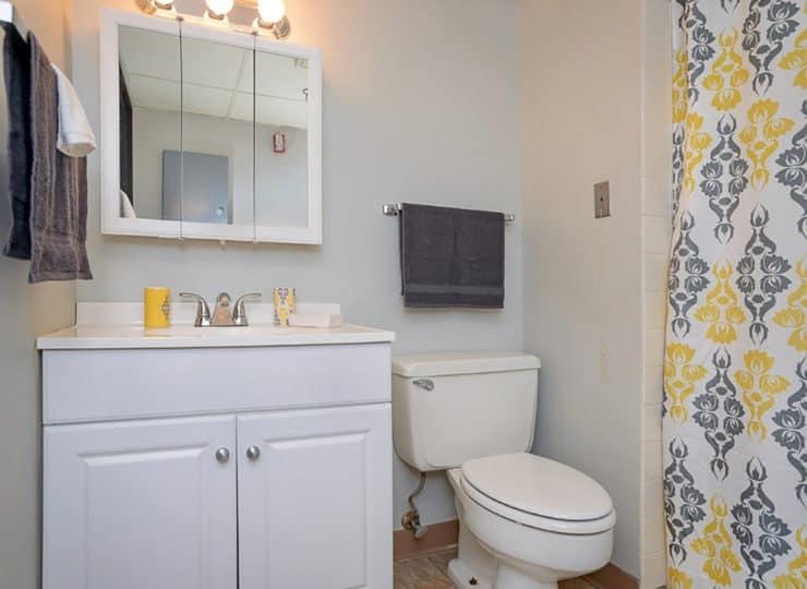 Mayfair Village Retirement Center Bathroom