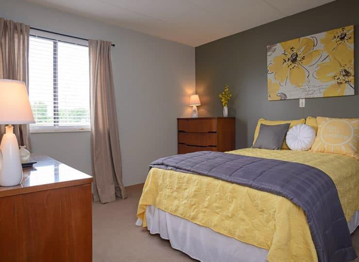 Mayfair Village Retirement Center Bedroom