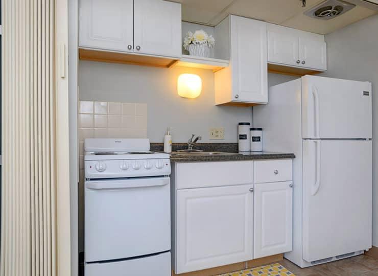 Mayfair Village Retirement Center Kitchen
