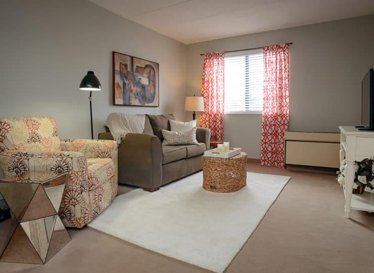 Mayfair Village Retirement Center Living Room
