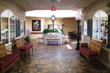 Triple Creek Retirement Community lobby