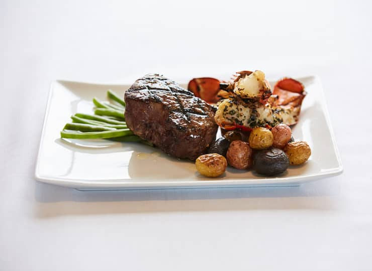 Woodland Terrace Cary Steak And Potato Dinner