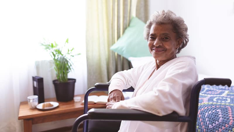 This woman wants to choose how to age and it's in a senior living community