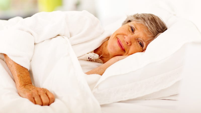 Senior woman wondering is melatonin safe