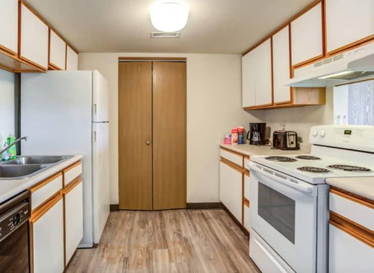 Parkview Senior Apartments Kitchen