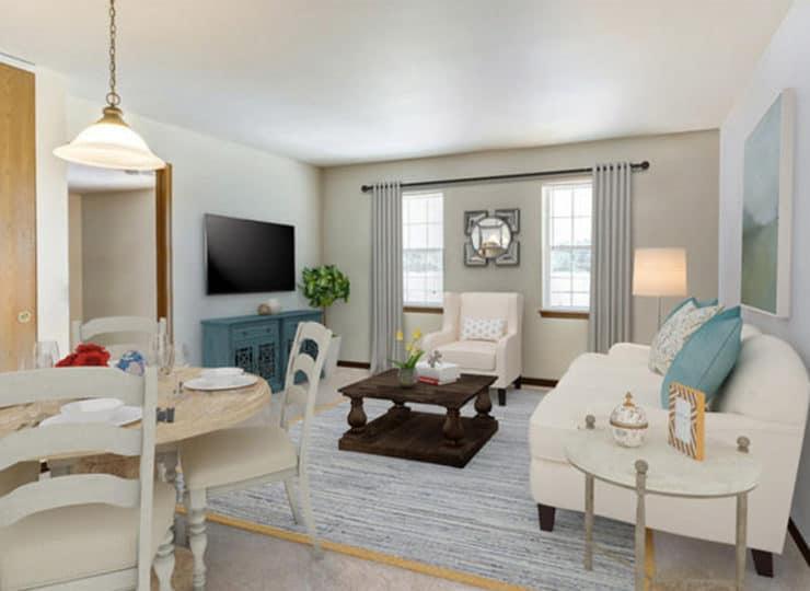 Parkview Senior Apartments Dining Room