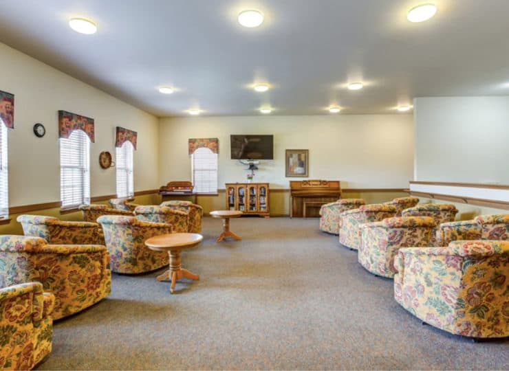 Parkview Senior Apartments Recreation Lounge