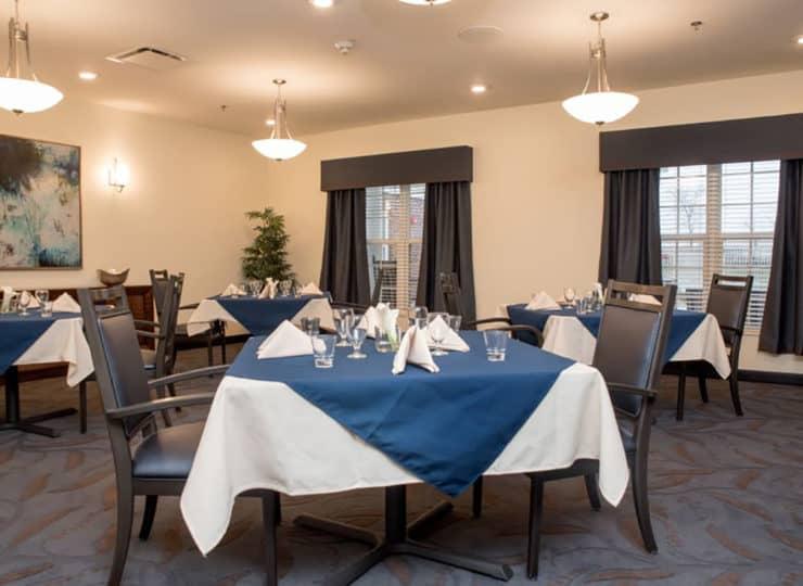 Gateway- Springs Health Campus Dining Room