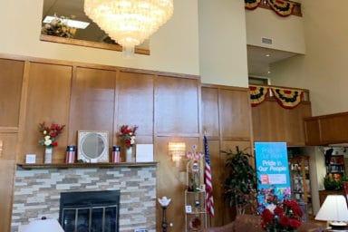 Sycamore Glen Retirement Community Lobby