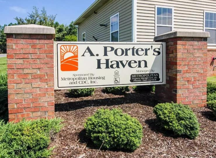 A. Porter's Haven Sign