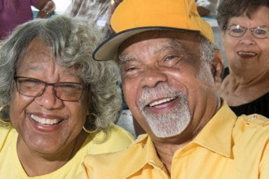 Central Virginia Alliance for Community Living Couple Smiling