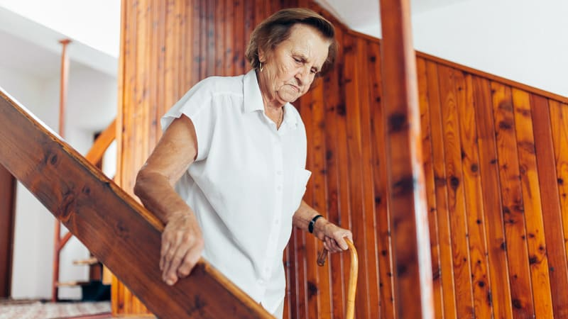 It may be time for senior living for parents, at least this woman