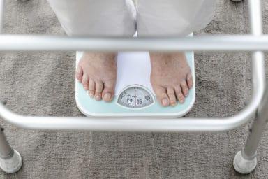 Sudden weight loss in seniors