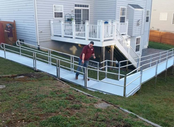 All American Mobility ramp