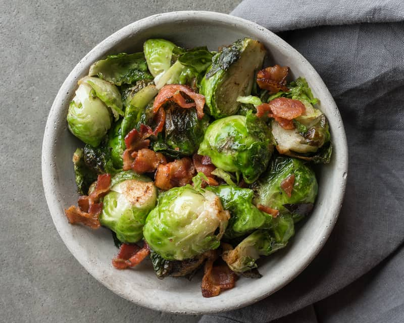 Holiday eating with diabetes brussels sprouts