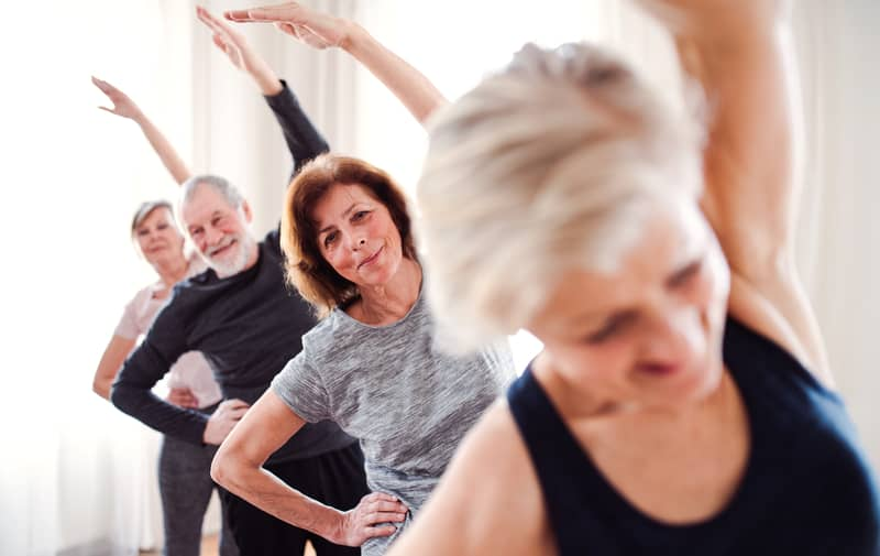Active adult living ballet