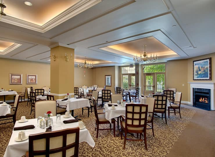 Evergreen Wellspring Dining Room
