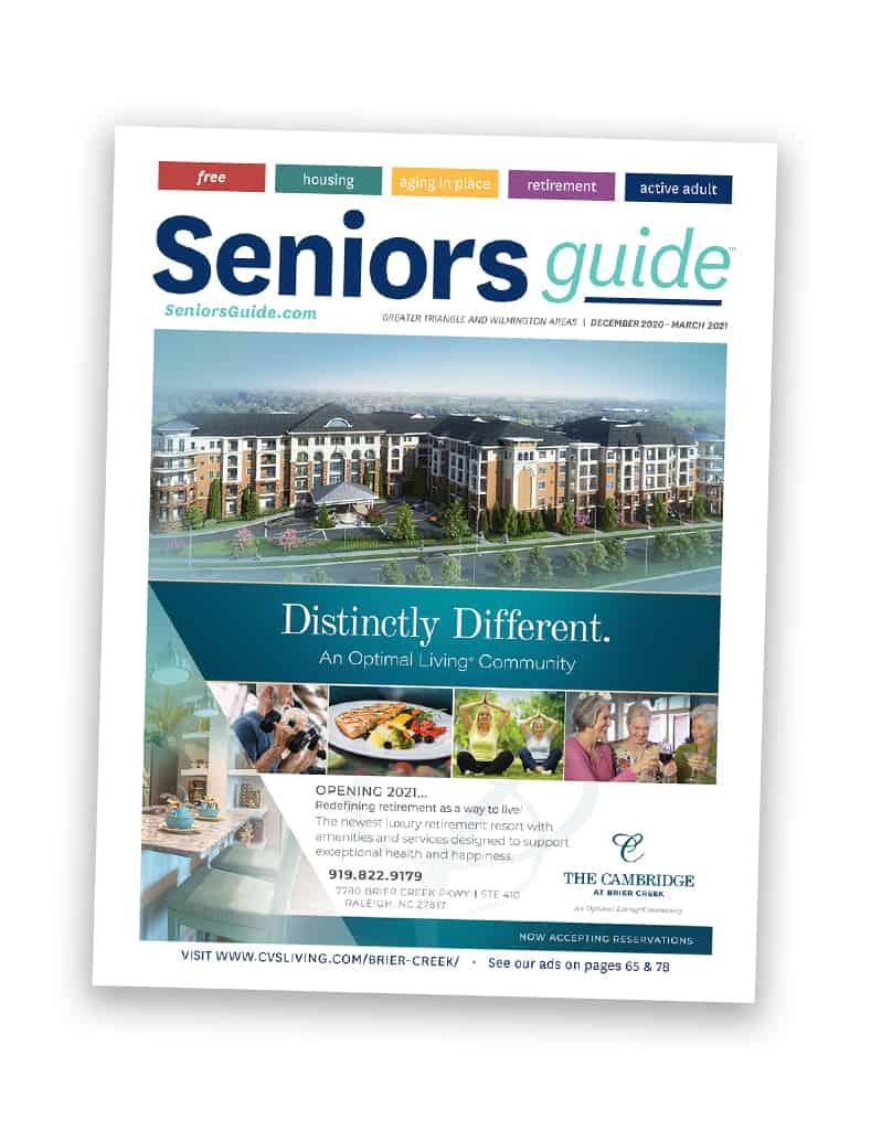 Seniors Guide Cover North Carolina