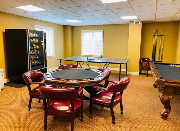 The Wellington at North Bend Crossing Activity Room