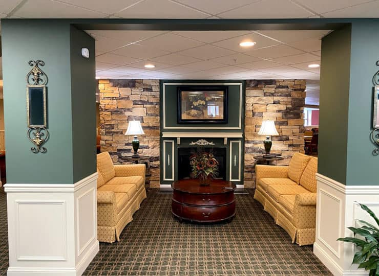 The Wellington at North Bend Crossing Community Room