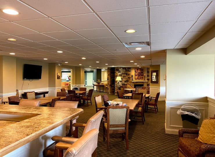 The Wellington at North Bend Crossing Social Room