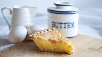 Chef Lanham's Buttermilk Pie Recipe thumbnail