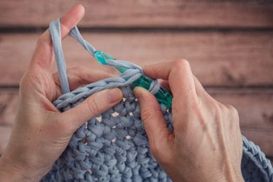 The art of crocheting