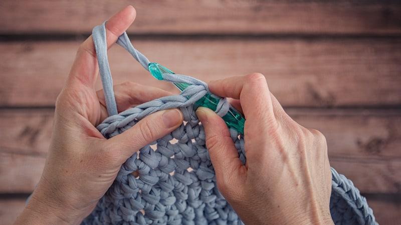 The art of crocheting