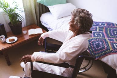 This aging parent needs home care