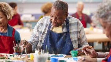 Tips and Ideas for Using Art Therapy for Seniors thumbnail