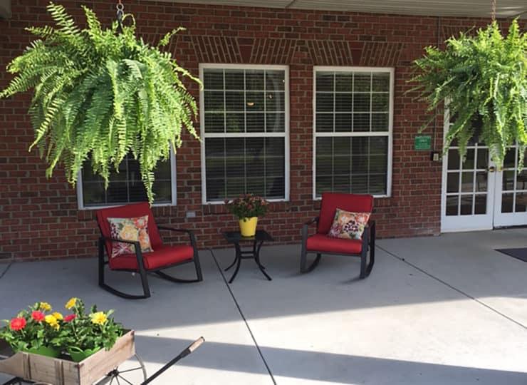 Brookdale Danville Piedmont Courtyard