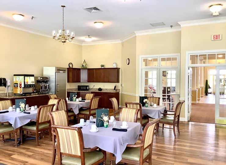 Brookdale Danville Piedmont Dining Room