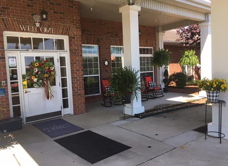 Brookdale Danville Piedmont Entrance