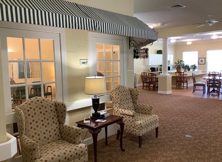 Brookdale Danville Piedmont Lobby