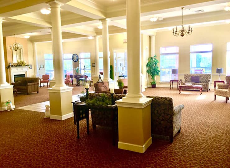 Brookdale Danville Piedmont Main Foyer