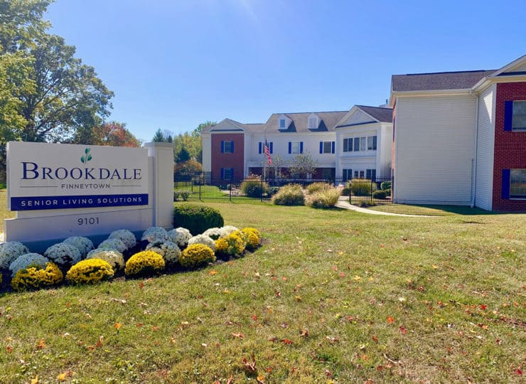 Brookdale Finneytown Welcome Sign