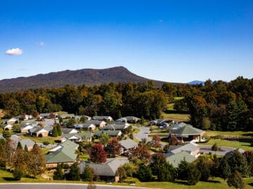 Sunnyside Aerial View