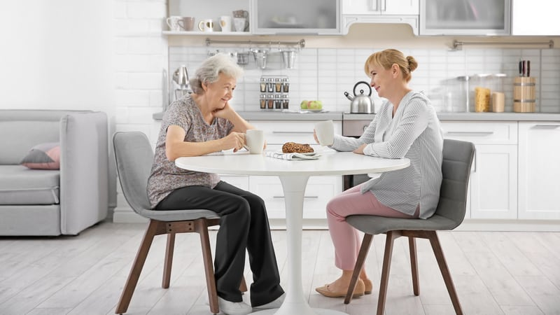 Caregiving adult wondering if she can get paid for taking care of an elderly parent?
