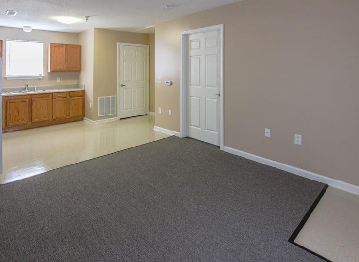 Bradleys Ridge Living Room with Kitchen