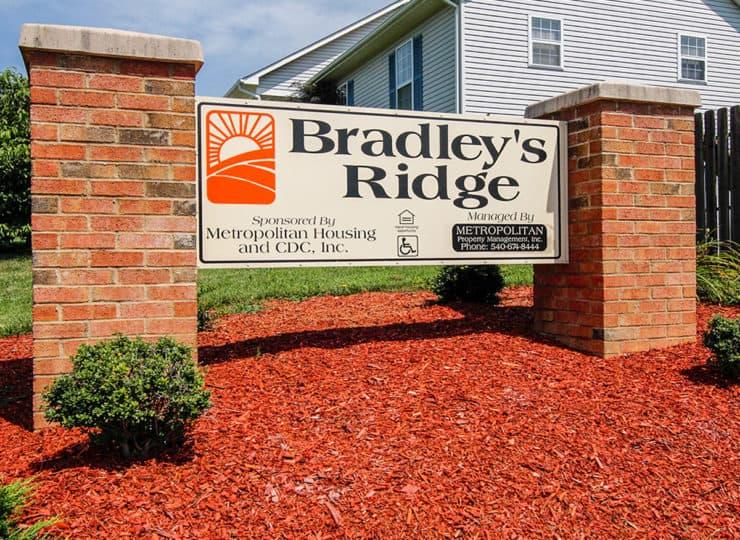 Bradleys Ridge Sign