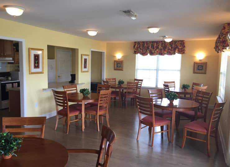 Crossings at Heritage Dining Room