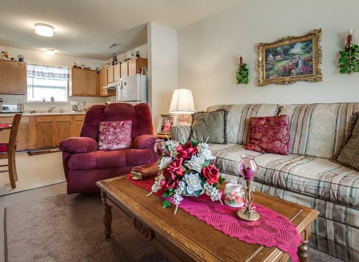 Janies Hope Living Room