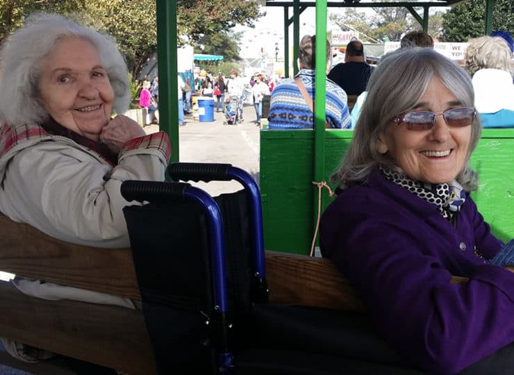 Lynns Care Homes Elderly Ladies at State Fair