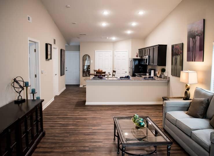 Redwood Sugarcreek Township Living Room and Kitchen