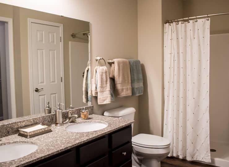 Redwood Sugarcreek Township Master Bathroom