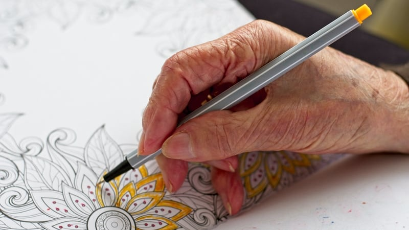 Some hand activities for dementia patients includes coloring