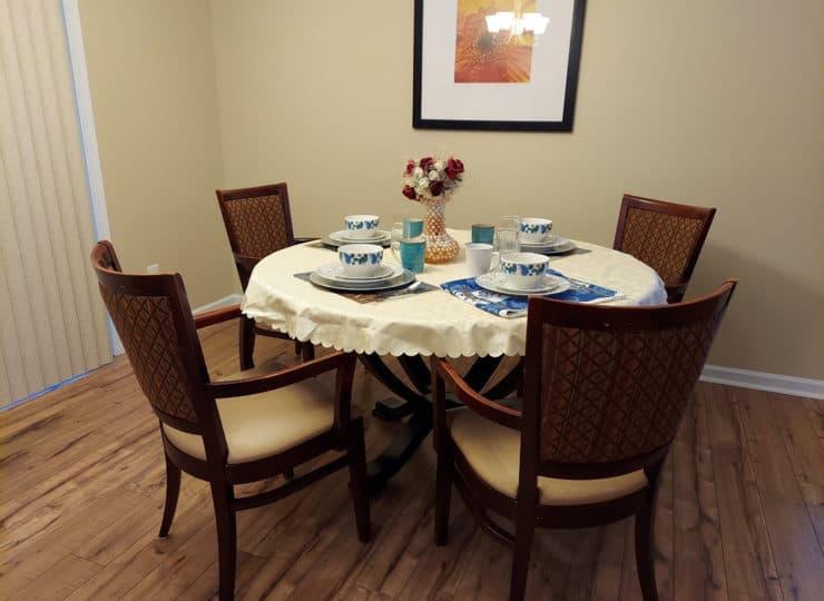 Bethesda Family Care Home Dining Room