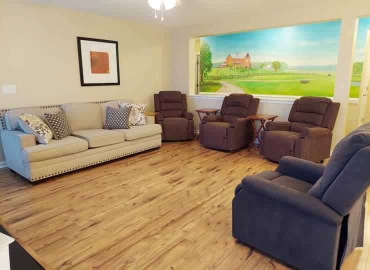 Bethesda Family Care Home Living Room
